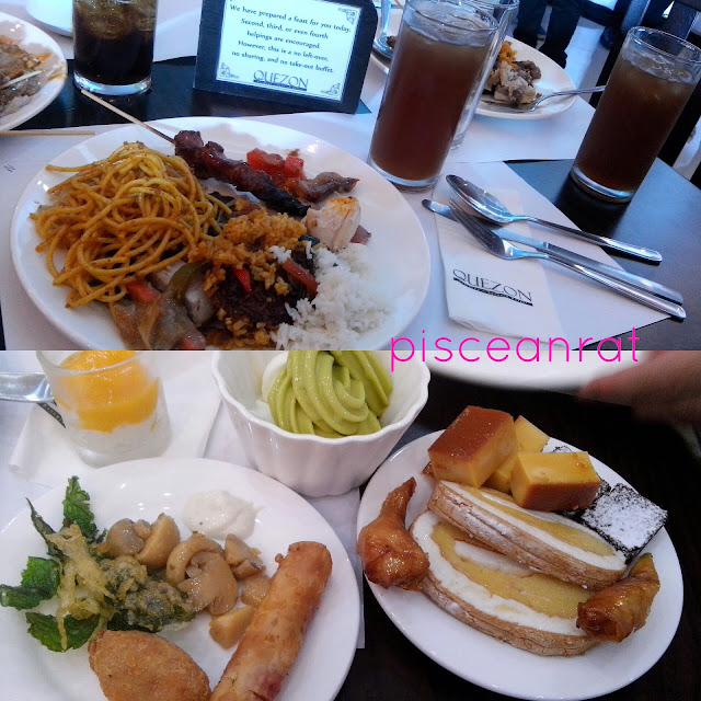 food in quezon buffet