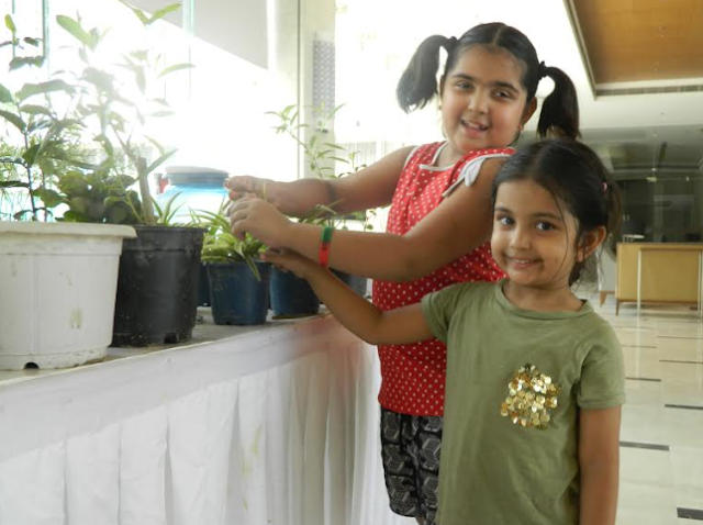 Residents at Mahagun cherish Rakshabandhan in a special way