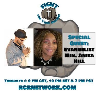 Special Guest: Evangelist Anita Hill