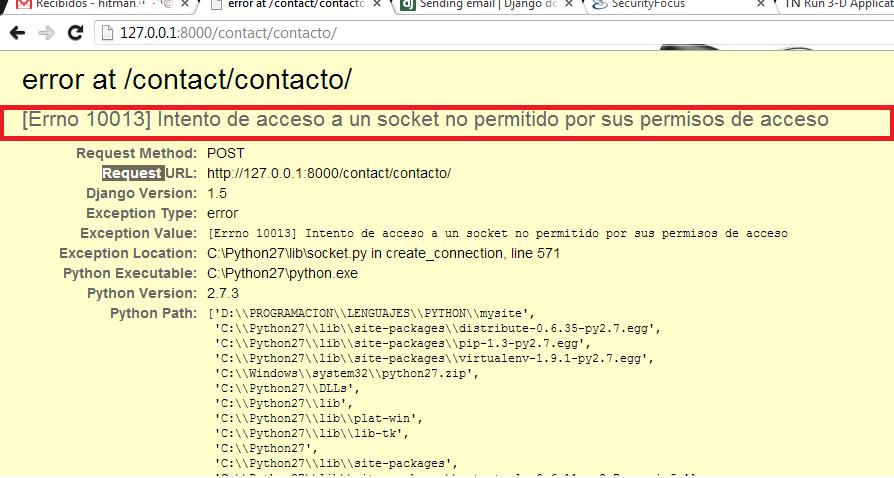 what is socket error 10013