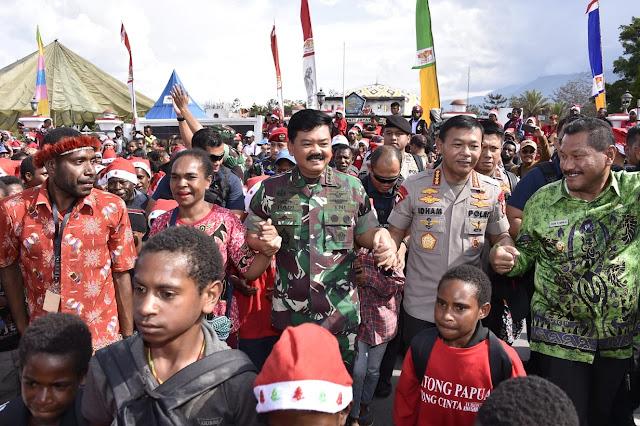 Panglima TNI: TNI dan Polri Selalu Hadir Ditengah-Tengah Masyarakat