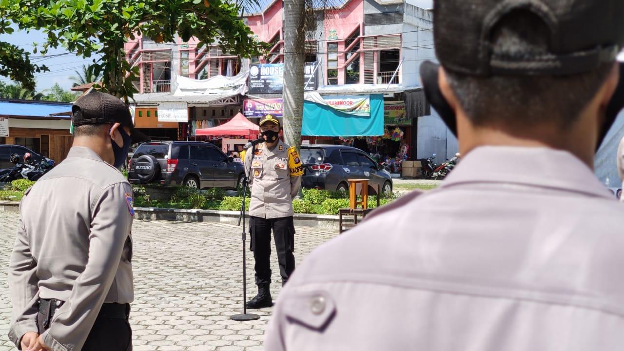 Kapolres Gumas: Anggota yang Ditugaskan Upayakan Penegakan Tetap Humanis