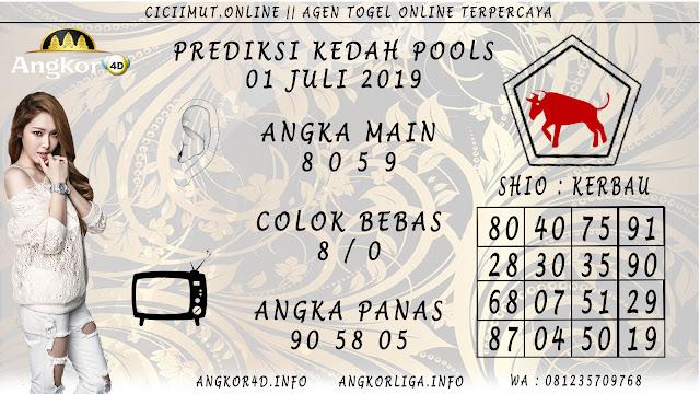 PREDIKSI KEDAH POOLS 01 JULI 2019