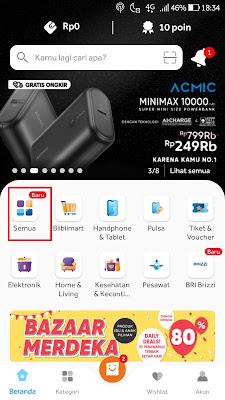 menu aplikasi bliblicom