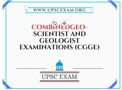 COMBINEDGEO-SCIENTIST AND GEOLOGIST EXAMINATIONS (CGGE)