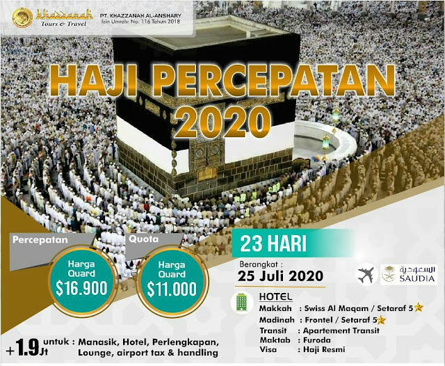 Haji plus non kuota 2020