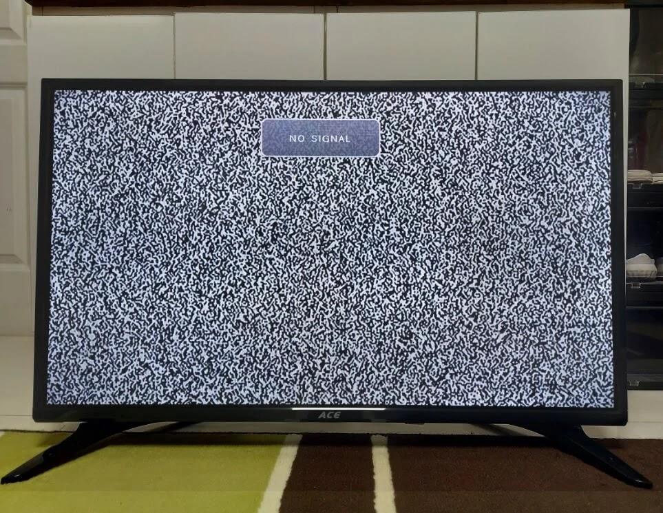 ACE 32-Inch Slim LED TV (LED-808 DN4) No Signal