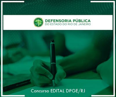 Concurso DPGE/RJ EDITAL