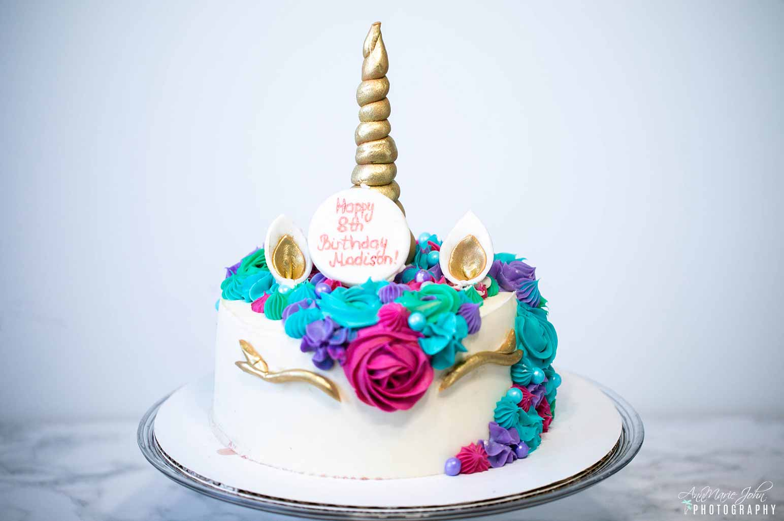 Unicorn Birthday Cake - Celebrating Birthdays and Milestones During a Quarantine