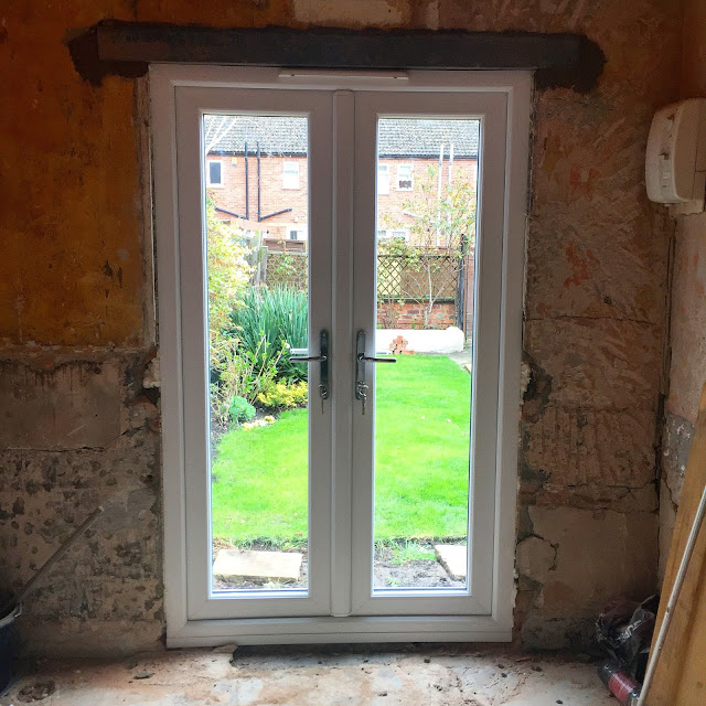 Homebase and Evander French Doors