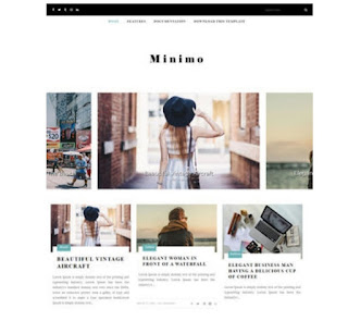Minimo  Responsive SEO friendly Blogger Template