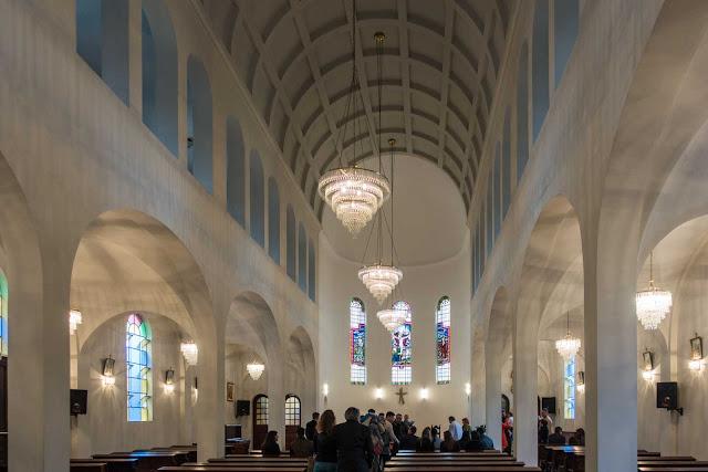 A capela do Asilo São Vicente de Paulo