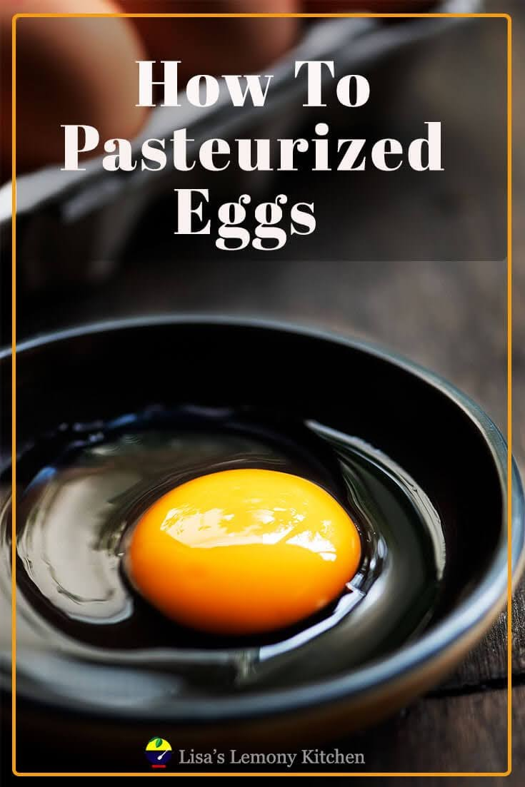 Easy steps on How to Pasteurize eggs. Pasteurized eggs can be used in any  partially cooked or raw eggs recipes like soft boiled eggs, egg Benedict or poached egg. Pasteurized eggs can help reduce the risk of food-borne illnesses.
