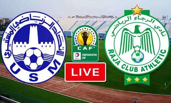 Match US Monastir VS Raja Casablanca Live Stream