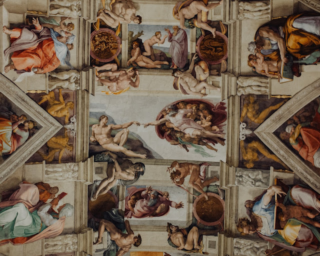 Sistine Chapel Ceiling:Photo by Calvin Craig on Unsplash