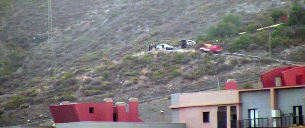 Un hombre mayor cae por una ladera en Paseo de San José