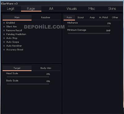Counter Strike GO KlarWare ESP,Aimbot Hilesi 28.05.2019 DLL