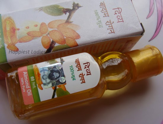 buy Patanjali almond oil for skin and hair