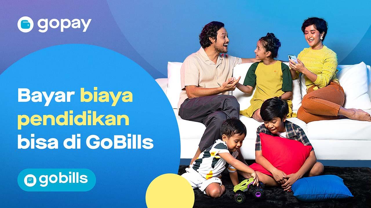 GoPay Kini Bisa Dipakai Buat Bayar Biaya Sekolah via GoBills