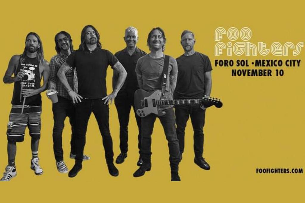 Foo Fighters en CDMX