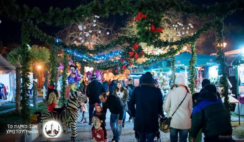 Ανοίγει τις πύλες του την Παρασκευή το Πάρκο των Χριστουγέννων στην Αλεξανδρούπολη