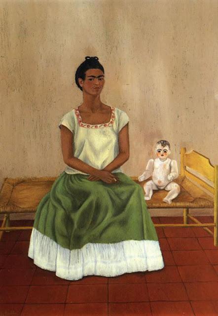 Фрида Кало - Я и моя кукла. 1937