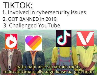 youtube vs tiktok memes