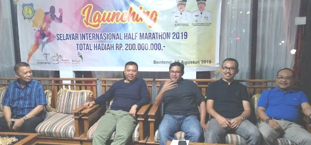 "Bupati Resmi Launching Pelaksanaan, ""SELAYAR INTERNASIONAL HALF MARATHON 2019"""