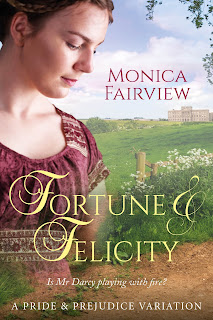 Book cover: Fortune & Felicity by Monica Fairview