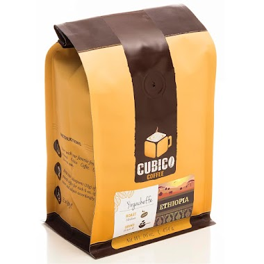 Ethiopia Yirgacheffe Coffee - Ground Coffee - Freshly Roasted Coffee - Cubico Coffee - 16 Ounce (Single Origin Ethiopian Coffee) by Cubico Coffee $14.95