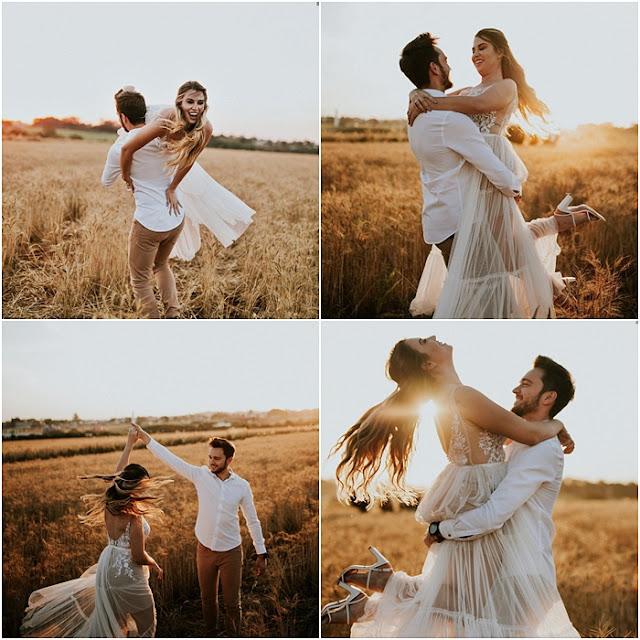 ensaio de fotos de casal em holambra