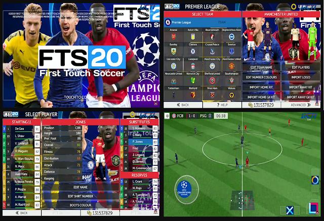 FTS 20 Mod UCL 2020 HD Graphics