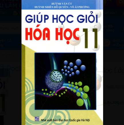 Giúp Học Giỏi Hóa Học Lớp 11 ebook PDF-EPUB-AWZ3-PRC-MOBI