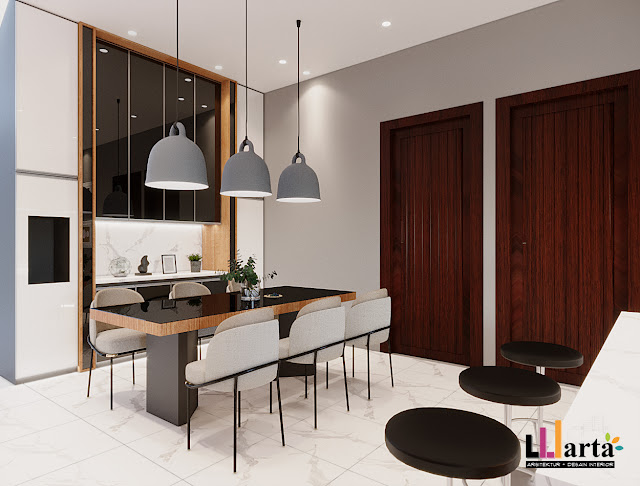 Desain Pantry Ruang Makan Kalianda Lampung Selatan