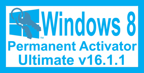 Windows 8 Permanent Activator Ultimate 16.1.1 Free Download