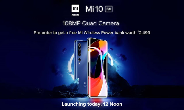 १०८ Megapixel असलेला कॅमेरा फोन आज होणार लाँच    MI 10    Technology