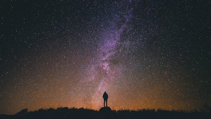 Plano de Fundo Celular Sozinho Via Láctea no Céu