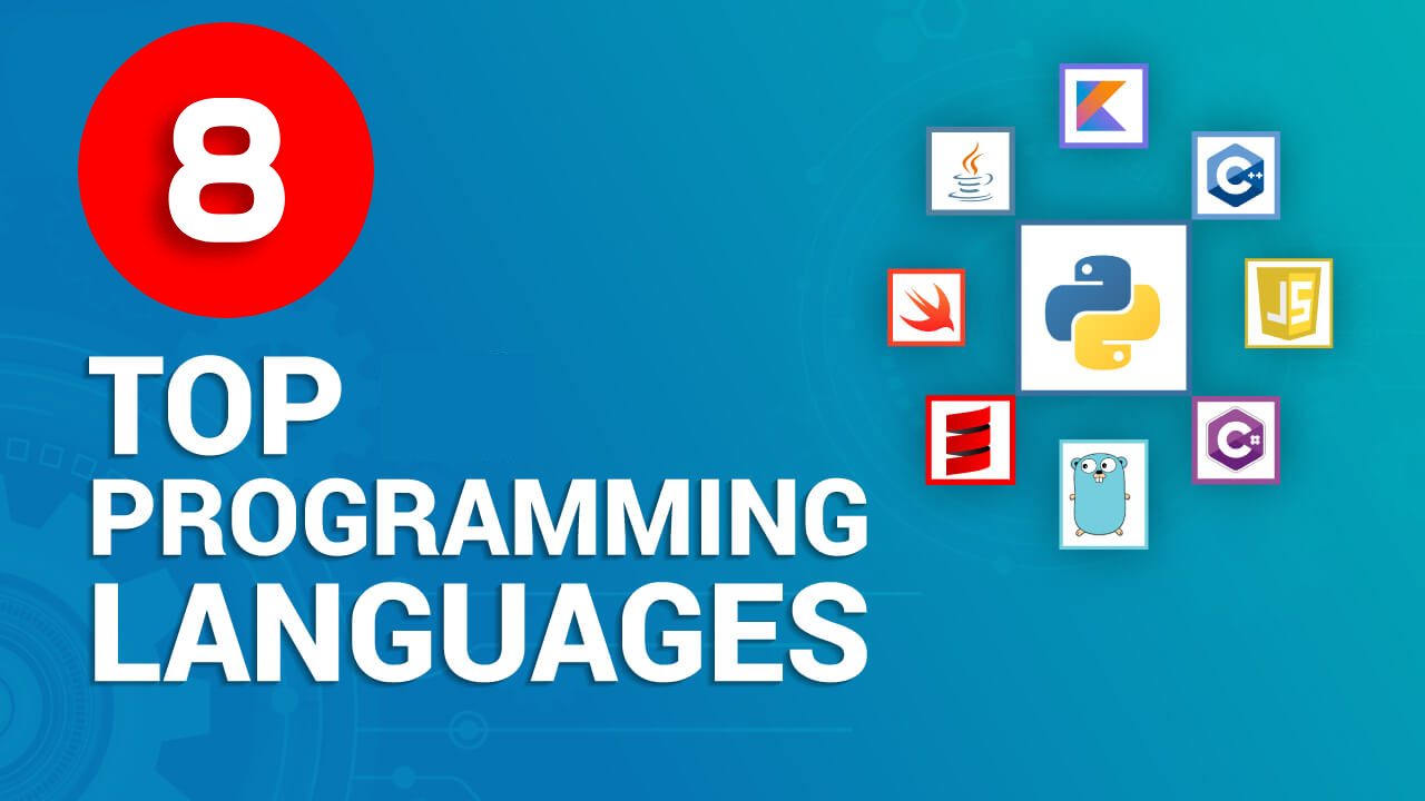 Top 8 Programming Languages In 2021 | Best Programming Languages To Learn In 2021