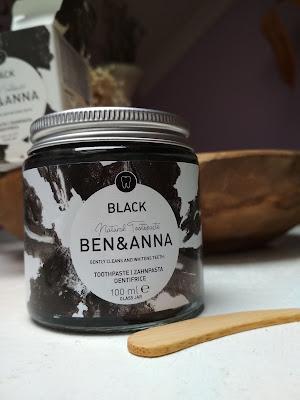 Ben&Anna Zubná pasta black