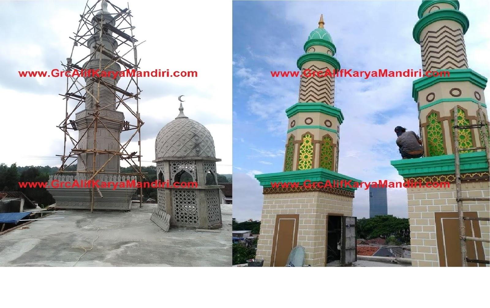 35 Gambar Menara Masjid / Mushola Terbaru - Model Desain ...