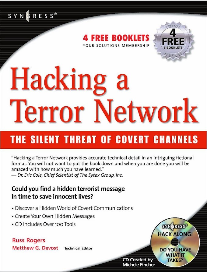 Hacking a Terror Network: The Silent Threat of Covert Channels, Syngresss