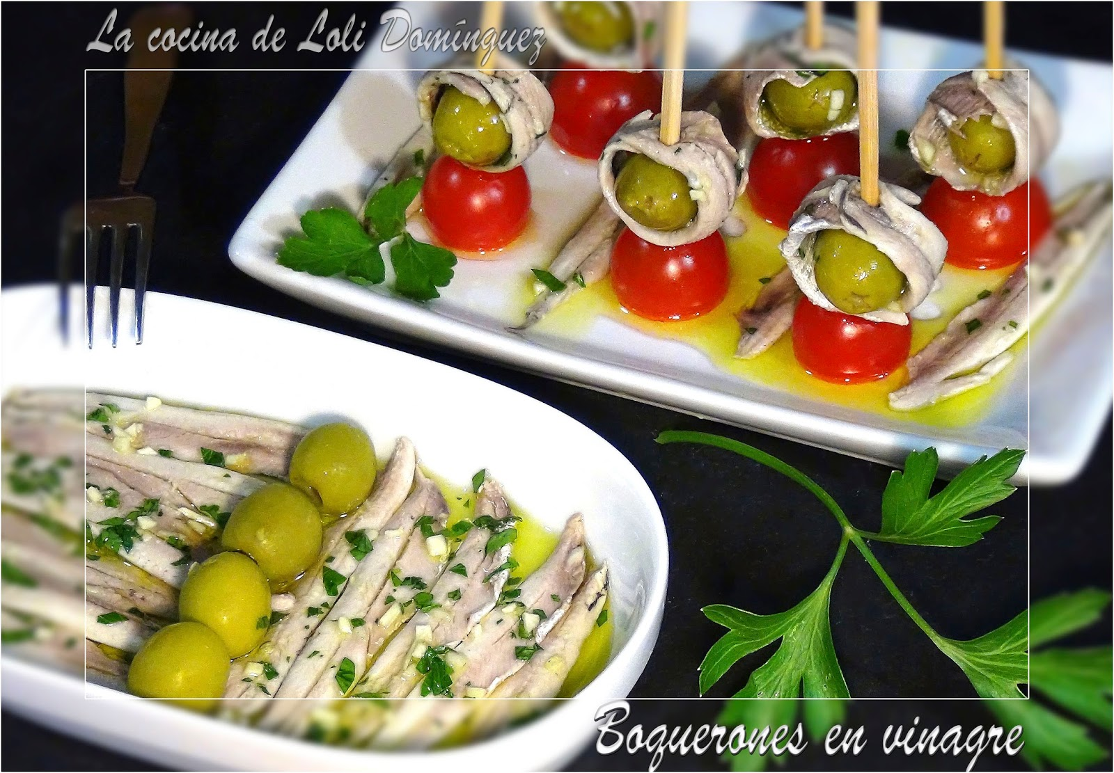 La cocina de loli dom nguez boquerones en vinagre - Calorias boquerones en vinagre ...