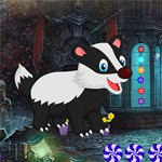 Games4King - Rescue the Cartoon Badger Escape