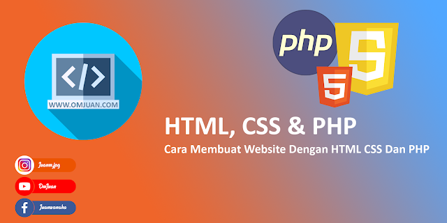 Tutorial HTML, CSS & PHP