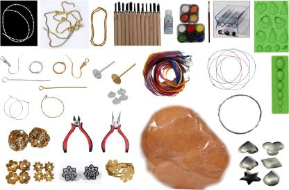 Artificial Jewellery Making and Retail Sales Business Idea - Terracotta Jewelery Making Kit