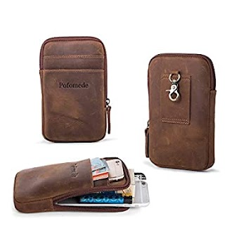 70% OFF Leather bags, pouches and phone holsters for men