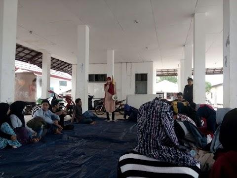 Rayon KTP Tarbiyah dan Rayon Orbit Syariah, Kompak Adakan Pelatihan Public Speaking