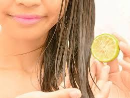 Lemon to treat dandruff