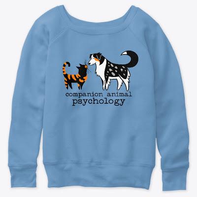 The Companion Animal Psychology slouchy sweatshirt