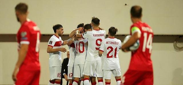 ملخص واهداف مباراة تركيا و جبل طارق (3-0) تصفيات كاس العالم